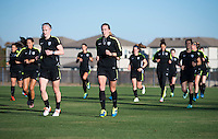 USWNT Training, December 8, 2015