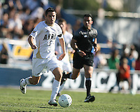 Michael Nanchoff #9 of the University of Akron during the 2010 College Cup final against the University of Louisville at Harder Stadium, on December 12 2010, in Santa Barbara, California. Akron champions, 1-0.