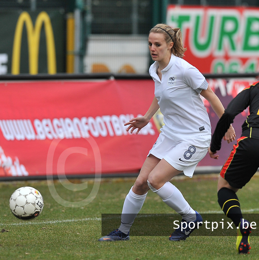 France U19 - Belgium U19 : Sandie Toletti.foto DAVID CATRY / Nikonpro.be