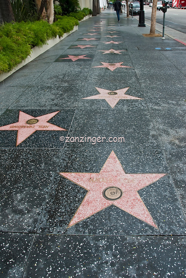 Natalie Cole Hollywood, Walk of Fame, Recording Artist, Hollywood CA, Hollywood CA