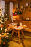 Europe/Allemagne/Bade-Würrtemberg/Forêt Noire/Baiersbronn/Gärtenbühlweg: Restaurant: Dorfstuben à l' Hôtel: Bareiss - Restaurant de spécialités régionales