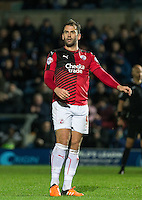 Simon Walton of Crawley Town during the Sky Bet League 2 match between Wycombe Wanderers and Crawley Town at Adams Park, High Wycombe, England on 28 December 2015. Photo by Andy Rowland / PRiME Media Images