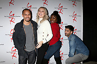LOS ANGELES - JAN 17:  Bryton James, Melissa Ordway, Loren Lott, Jason Canela at the Young and the Restless Celebrates 30 Years at #1 at the CBS Television CIty on January 17, 2019 in Los Angeles, CA