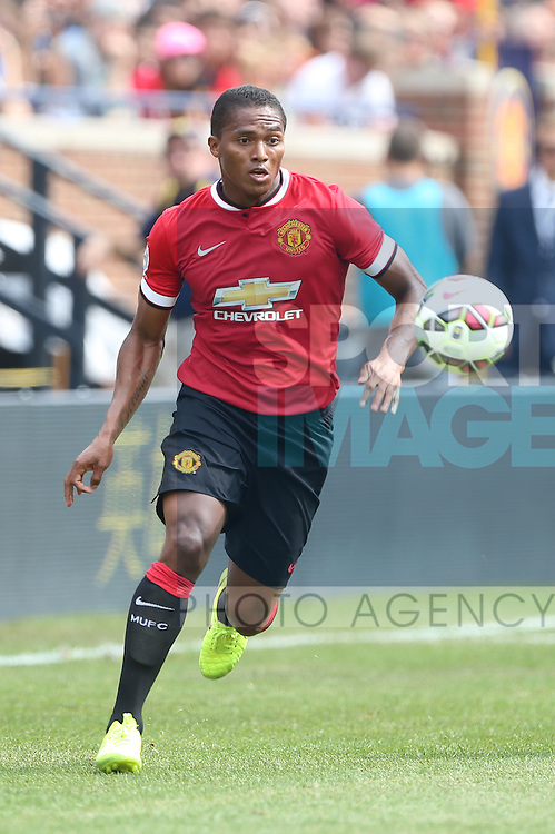 Luis Antonio Valencia of Manchester United - International Champions Cup 2014 - Manchester United vs Real Madrid - Michigan Stadium - Ann Arbor - USA - 2nd August 2014 - Picture David Klein/Sportimage