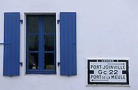 Europe/France/Pays de la Loire/85/Vendée/Ile d'Yeu/Saint-Sauveur: Détail habitat