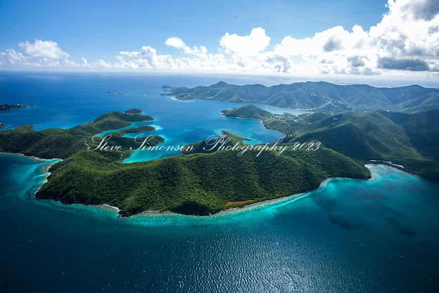 East End of St. John <br /> including Hurricane Hole<br /> U.S. Virgin Islands