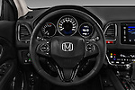 Car pictures of steering wheel view of a 2016 Honda HRV Executive 5 Door Suv Steering Wheel