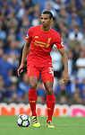 Joel Matip of Liverpool during the Premier League match at Anfield Stadium, Liverpool. Picture date: September 10th, 2016. Pic Simon Bellis/Sportimage