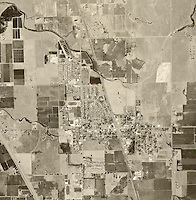 historical aerial photograph Palmdale, Los Angeles county, 1966