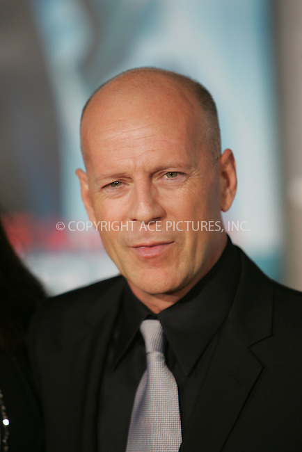 WWW.ACEPIXS.COM . . . . . ....September 24 2009, New York City....Bruce Willis arriving at the world premiere of 'Surrogates' at the El Capitan Theater on September 24, 2009 in Hollywood, Los Angeles....Please byline: JOE WEST - ACEPIXS.COM....Ace Pictures, Inc:  ..(212) 243-8787 or (646) 679 0430..e-mail: picturedesk@acepixs.com..web: http://www.acepixs.com