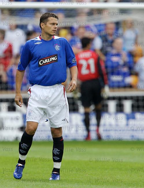 Libor Sionko, Rangers.stock season 2006-2007.pic willie vass