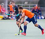 DEN HAAG - Valentin Verga tijdens  de trainingswedstrijd hockey Nederland-Argentinie (1-2). COPYRIGHT KOEN SUYK