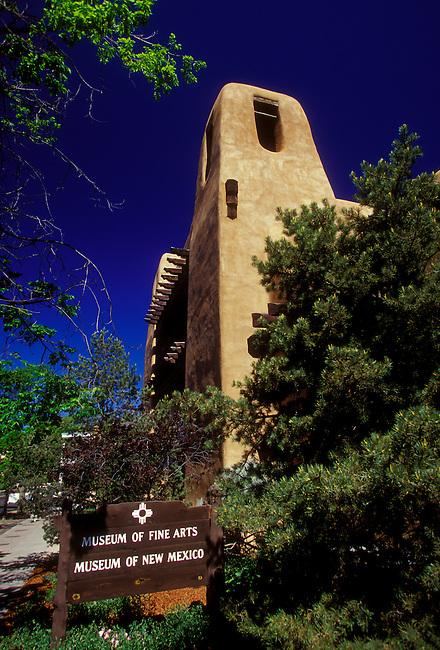 Museum of Fine Arts, Santa Fe, Santa Fe County, New Mexico, United States, North America