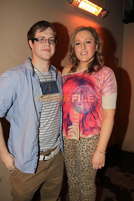 Ciaran Brady and Hannah Byrne McHughs Ents..Picture Fran Caffrey www.newsfile.ie..