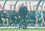 Solna 2015-10-04 Fotboll Allsvenskan AIK - Malm&ouml; FF :  <br /> Malm&ouml;s assisterande tr&auml;nare Olof Persson reagerar under matchen mellan AIK och Malm&ouml; FF <br /> (Foto: Kenta J&ouml;nsson) Nyckelord:  AIK Gnaget Friends Arena Allsvenskan Malm&ouml; MFF tr&auml;nare manager coach arg f&ouml;rbannad ilsk ilsken sur tjurig angry depp besviken besvikelse sorg ledsen deppig nedst&auml;md uppgiven sad disappointment disappointed dejected