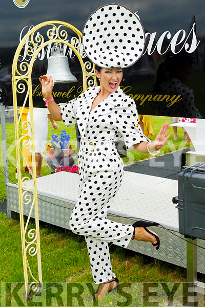 Winner Alright at the Listowel Races June Bank Holiday Meeting Ladies Day on Sunday Best Dressed Lady, Mary Woulfe