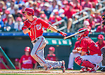 6 March 2016: Washington Nationals infielder Trea Turner in action during a Spring Training pre-season game against the St. Louis Cardinals at Roger Dean Stadium in Jupiter, Florida. The Nationals defeated the Cardinals 5-2 in Grapefruit League play. Mandatory Credit: Ed Wolfstein Photo *** RAW (NEF) Image File Available ***