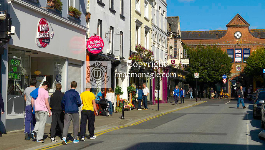 Spotlessly clean streets in Killarney  this weekend ahead of the Tidy Town Awards..Picture by Don MacMonagle