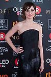 Nathalie Poza attends red carpet of Goya Cinema Awards 2018 at Madrid Marriott Auditorium in Madrid , Spain. February 03, 2018. (ALTERPHOTOS/Borja B.Hojas)