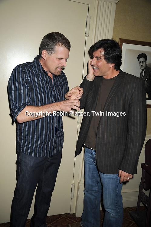 Robert Newman and Vincent Irizarry