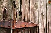 Rusted Barn Hinge