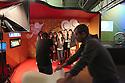 Group shot at the photography studio of PepsiCo space at the Fuorisalone Zona Tortona on April 15, 2016, in Milan, Italy.  &copy; Carlo Cerchioli<br /> <br /> Foto di gruppo allo studio fotografico dello spazio PepsiCo al Fuorisalone Zona Tortona, Mialno 15 Aprile 2016, Italia.