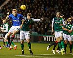 19.12.2018 Hibs v Rangers: Scott Arfield and Florian Kamberi