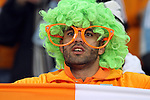 20 JUN 2010: Ivory Coast fan. The Brazil National Team defeated the C'ote d'Ivoire National Team 3-1 at Soccer City Stadium in Johannesburg, South Africa in a 2010 FIFA World Cup Group G match.
