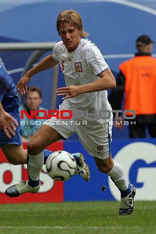 FIFA WM 2006 -  Gruppe E Vorrunde ( Group E )<br /> Play   #41 (22-Jun) - Tschechien - Italien 0:2<br /> <br /> Radoslav Kovac<br /> <br /> Foto &copy; nordphoto