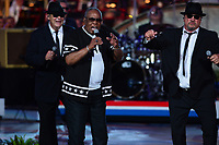 "Washington, DC - July 3, 2017: Sam Moore, famed member of the 1960's group Sam & Dave, performs at the ""Capitol Fourth"" rehearsal concert on the west lawn of the U.S. Capitol July 3, 2017. Moore was inducted into the Rock and Roll Hall of Fame  (Photo by Don Baxter/Media Images International)"