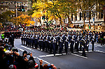 USA - NEW YORK - Veterans day parade November 2011