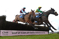 I See You Well (10) ridden by Jeremiah McGrath in The Weatherbys Racing Bank Silver Buck Handicap Chase  during Horse Racing at Wincanton Racecourse on 5th December 2019