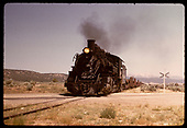 D&amp;RGW #498 K-37 in Monarch area.<br /> D&amp;RGW  Monarch area, CO