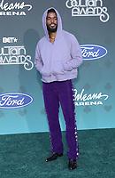 17 November 2019 - Las Vegas, NV - Luke James. 2019 Soul Train Awards Red Carpet Arrivals at Orleans Arena. Photo Credit: MJT/AdMedia