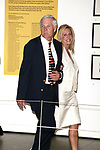 Ted Turner with Rebecca Stewart attending a Cocktail Reception for the Clinton Global Initiative at the Museum of Modern Art (MOMA) in New York City.<br />September 15, 2005