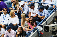 Rafael Nadal's family - Sebastián Nadal, María Isabel Nadal, Ana María Parera, Xisca Perelló -  watches the final between Rafael Nadal of Spain and Daniil Medvedev of Russia at Arthur Ashe Stadium at the USTA Billie Jean King National Tennis Center on September 08, 2019 in New York City. <br /> CAP/EL<br /> ©Elena Leoni/Capital Pictures