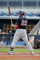 Minnesota Twins outfielder Chad Christensen (23) during an Instructional League game against the Tampa Bay Rays on September 16, 2014 at Charlotte Sports Park in Port Charlotte, Florida.  (Mike Janes/Four Seam Images)
