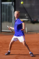 Netherlands, Rotterdam August 05, 2015, Tennis,  National Junior Championships, NJK, TV Victoria, Bram Poel<br /> Photo: Tennisimages/Henk Koster