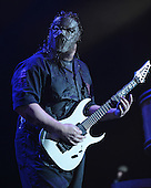 WEST PALM BEACH, FL - JULY 24: Mick Thomson of Slipknot performs at The Coral Sky Amphitheater on July 24, 2015 in West Palm Beach Florida. Credit Larry Marano © 2015