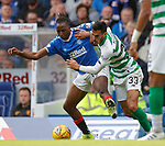 01.09.2019 Rangers v Celtic: Joe Aribo and Hatem El Hamed