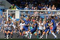 Guro Reiten of Chelsea Women takes a shot at the Tottenham goal during Chelsea Women vs Tottenham Hotspur Women, Barclays FA Women's Super League Football at Stamford Bridge on 8th September 2019