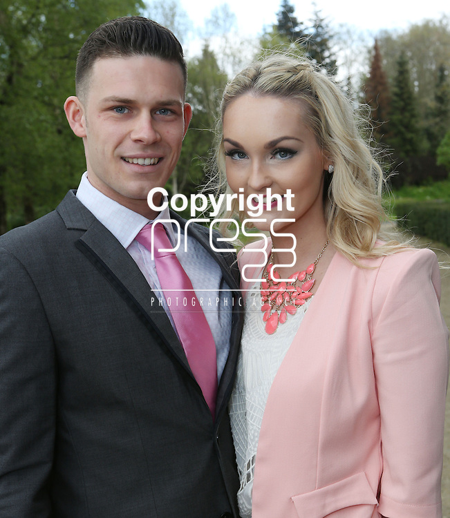 25/4/2014 (with compliments)  Attending the KBS/Northern Trust Outstanding Student/Graduate Awards in the Kemmy Business School, UL were Sean Connick, New Ross, Co. Wexford who is studying for a BBS Economics and Finance with his girlfriend Claire Cogley, New Ross.<br /> Picture Liam Burke/Press 22