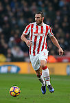 Erik Pieters of Stoke City during the English Premier League match at the Bet 365 Stadium, Stoke on Trent. Picture date: December 17th, 2016. Pic Simon Bellis/Sportimage