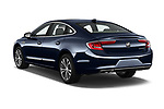 Car pictures of rear three quarter view of a 2019 Buick LaCrosse Essence 4 Door Sedan angular rear