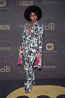 NEW YORK, NY - JANUARY 25: Janelle Monae at the  Warner Music Group Pre Grammy Celebration at The Grill/The Pool in New York City on January 25, 2018. Credit: John Palmer/MediaPunch