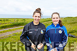 Julianne O'Keeffe took the honours in the Senior camogie and Saoirse Maloney in the U16 camogie at the Kerry Puc Fada in Ballyheigue on Monday