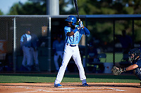AZL Royals Diego Hernandez (6) at bat during an Arizona League game against the AZL Brewers Blue at Surprise Stadium on June 18, 2019 in Surprise, Arizona. AZL Royals defeated AZL Brewers Blue 12-7. (Zachary Lucy/Four Seam Images)