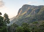 Ella Rock mountain, Ella, Badulla District, Uva Province, Sri Lanka, Asia