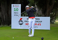 Luke Toomey. Day two of the Jennian Homes Charles Tour / Brian Green Property Group New Zealand Super 6s at Manawatu Golf Club in Palmerston North, New Zealand on Friday, 6 March 2020. Photo: Dave Lintott / lintottphoto.co.nz
