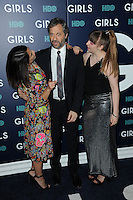 www.acepixs.com<br /> February 2, 2017  New York City<br /> <br /> Jennifer Konner, Judd Apatow and Lena Dunham attending the New York premiere of the sixth &amp; final season of 'Girls' at Alice Tully Hall, Lincoln Center on February 2, 2017 in New York City.<br /> <br /> Credit: Kristin Callahan/ACE Pictures<br /> <br /> <br /> Tel: 646 769 0430<br /> Email: info@acepixs.com